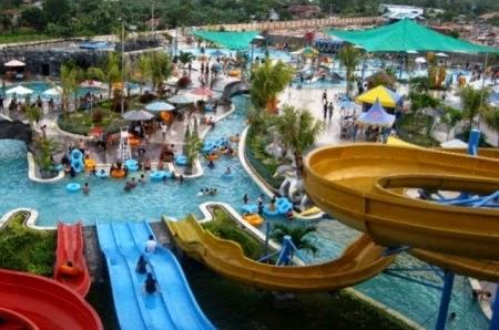 Gumul Paradise Island : Tempat wisata wahana permainan air di kediri