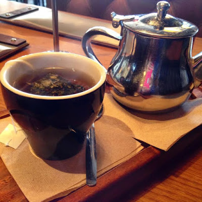 Delicious Peppermint Tea at Bay Vista, Brighton