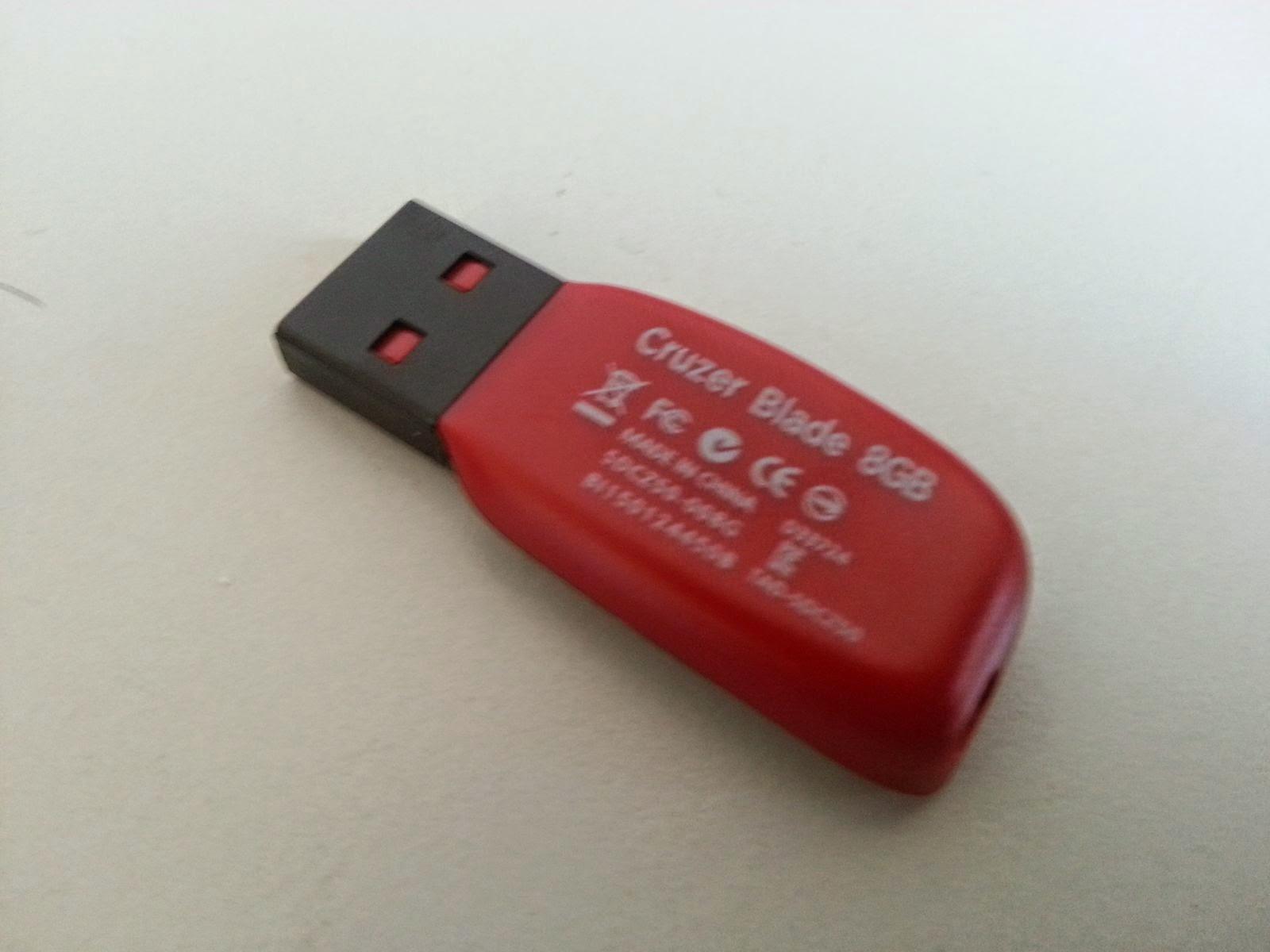 샌디스크 USB 메모리  Cruzer Blade CZ50 사용후기