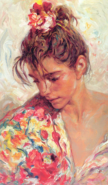the shawl suite, Jose Royo, Impressionism