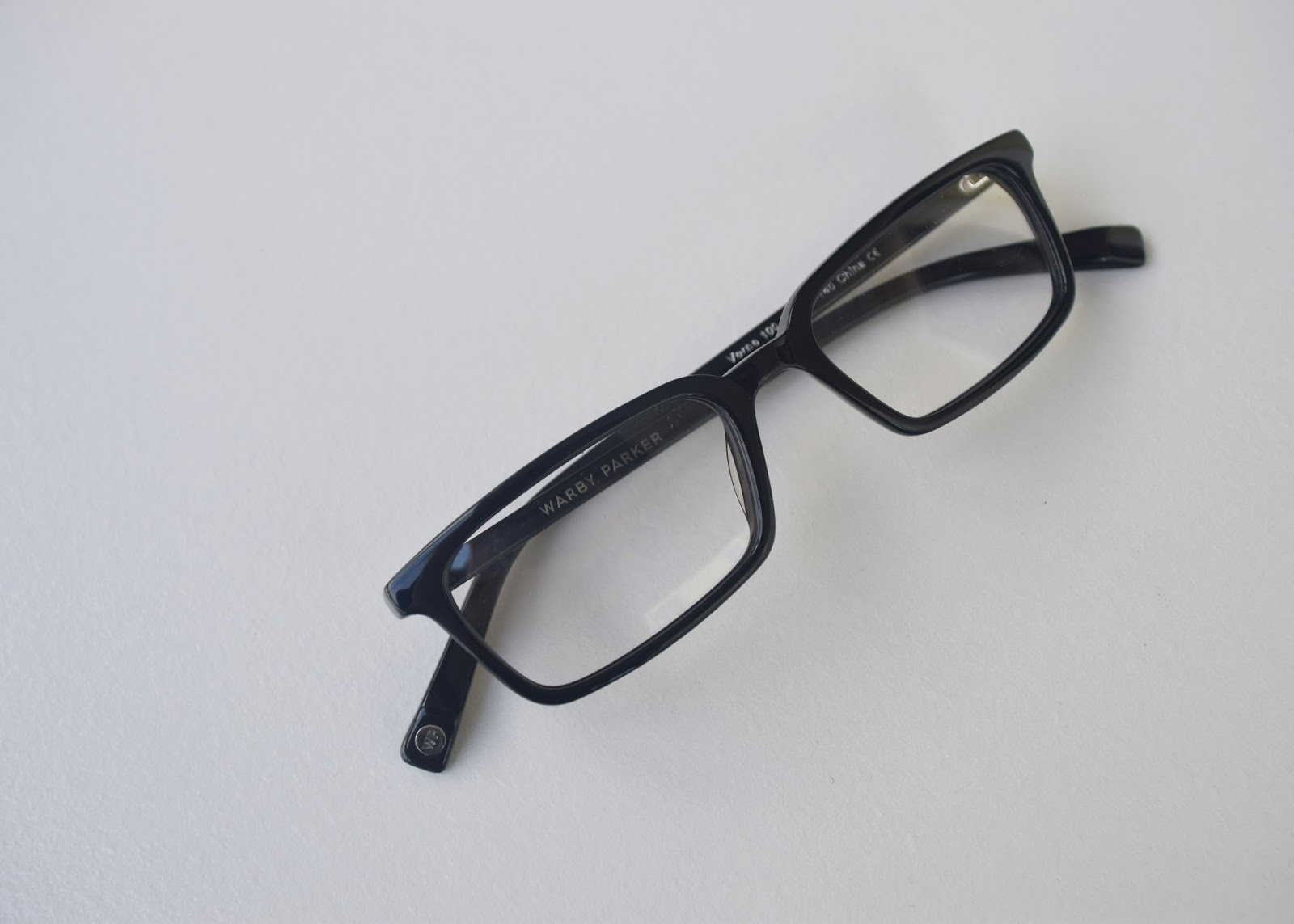 Warby Parker Home Try-On Verne in Jet Black