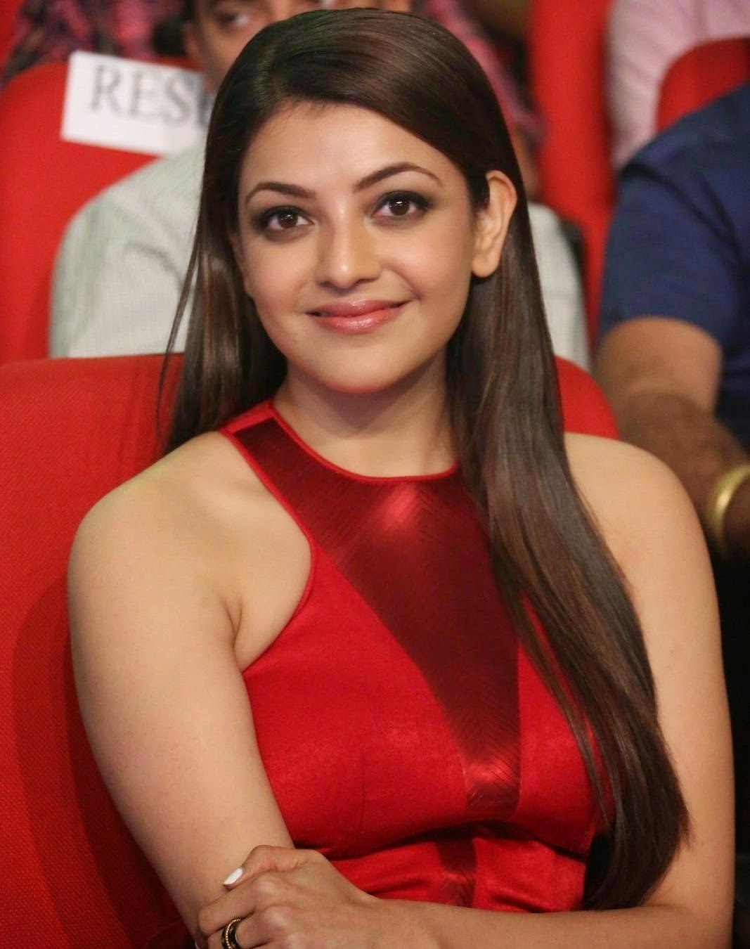 Kajal aggarwal at Temper movie audio launch