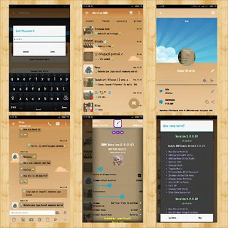 BBM Mod Simple Brown 2.9.0.51 Apk