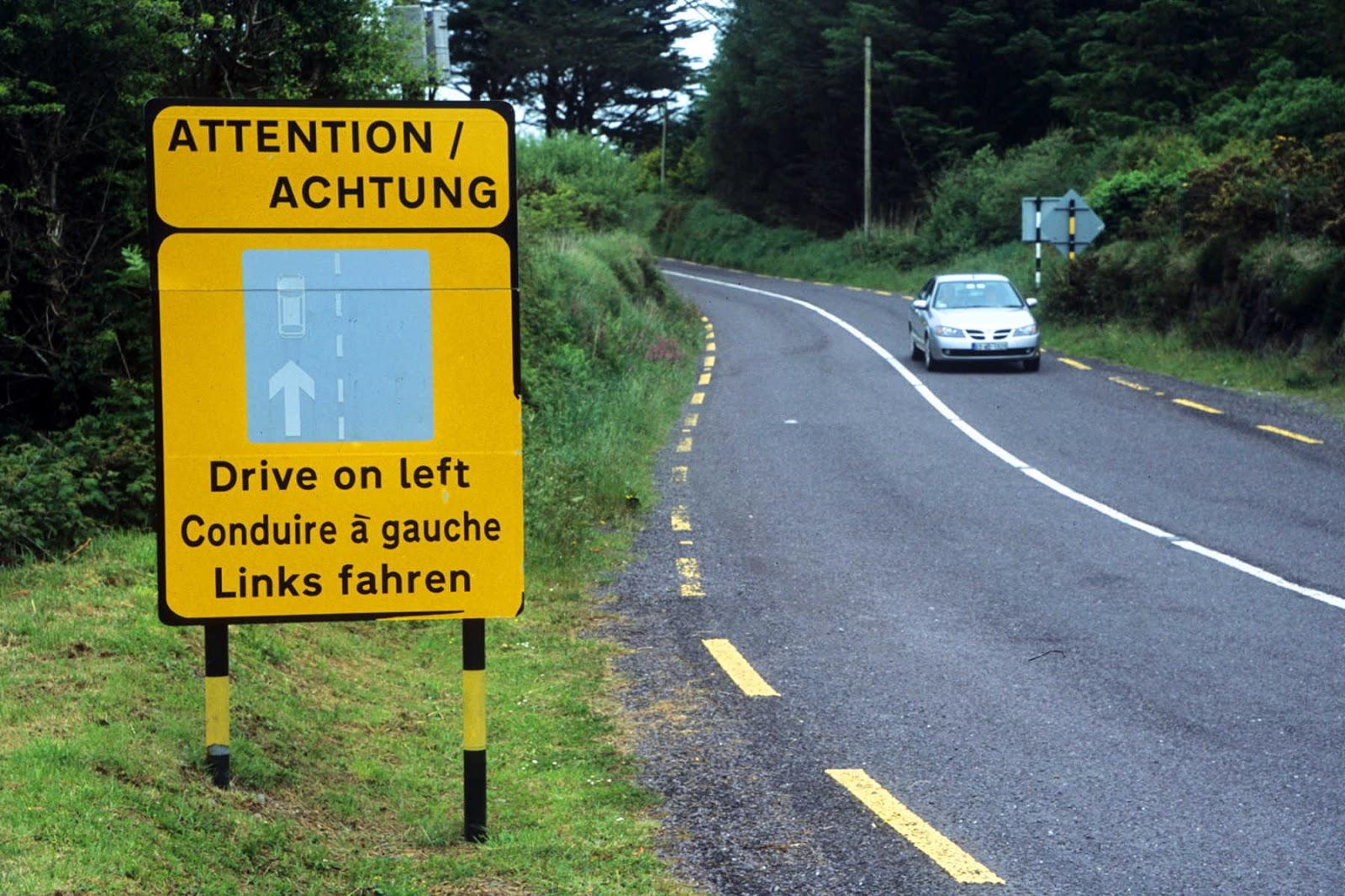dirigir na irlanda