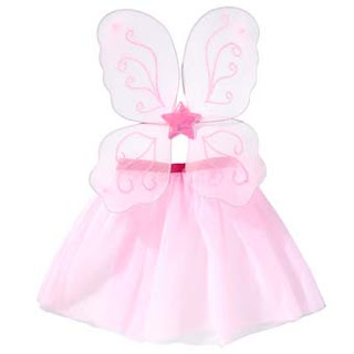 pink wings and tutu
