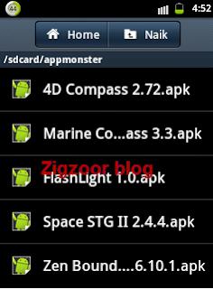 hasil backup aplikasi menjadi file apk