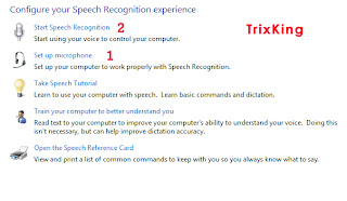 Setup microphone for Speech recognition