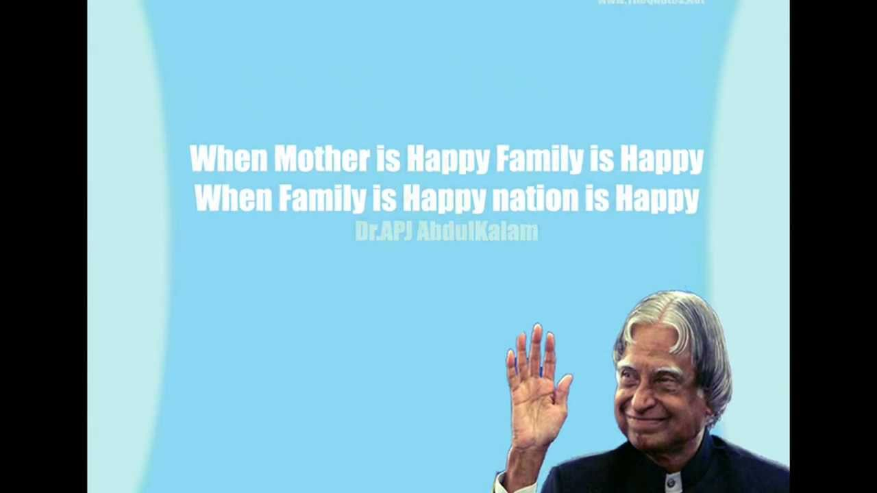 the person that i admired the most is dr abdul kalam S, sure, i am inspired by kalam's actions.