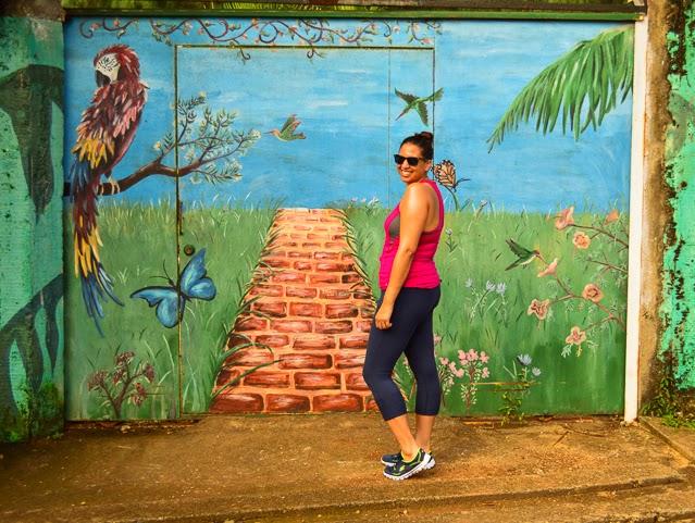 Wall mural Utila Honduras