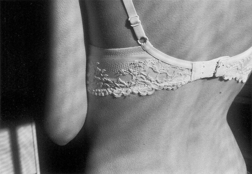 sujetador encaje blanco bonito