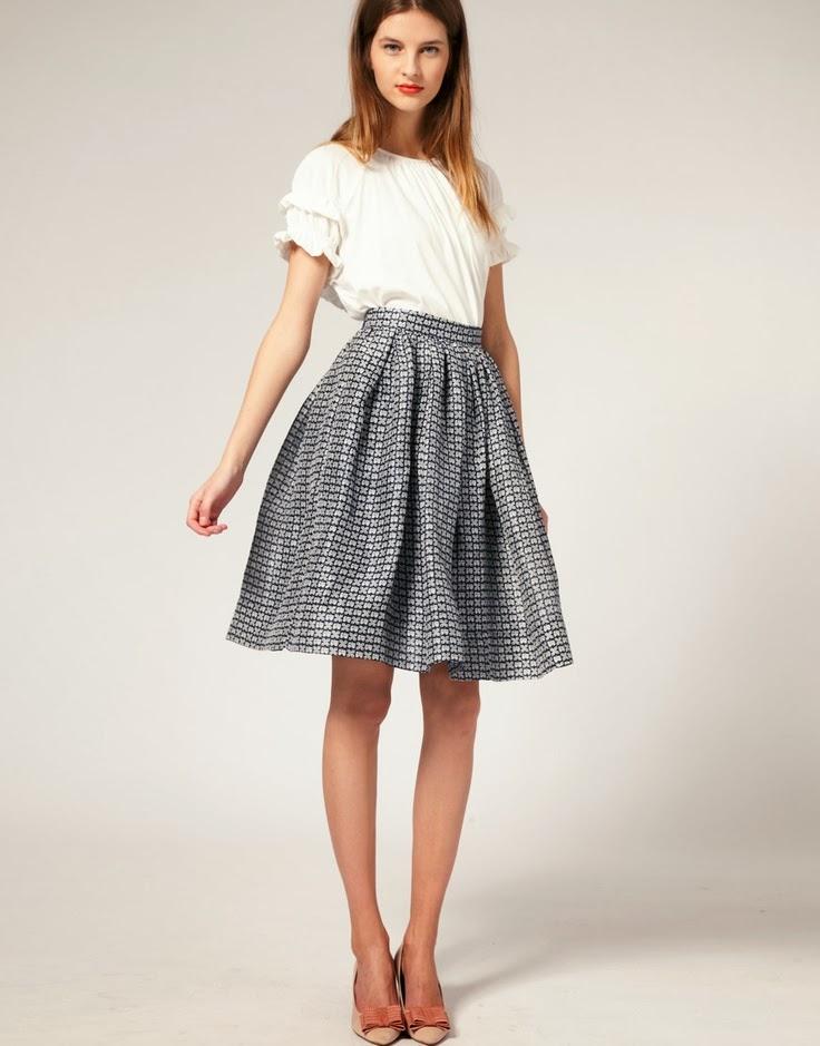 Trending: The full circle skirt (or skater skirt) and how ...