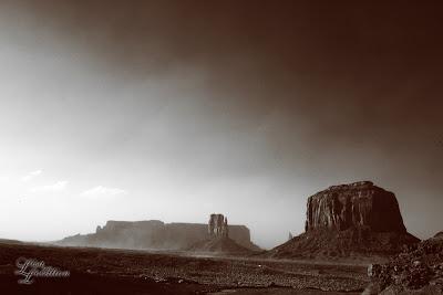 Monument Valley Arizona, Merrick Butte, West Mitten Butte, Sentinel Mesa, infrared, landscape, fine art, New Braunfels photographer