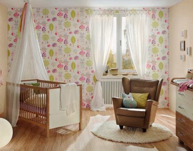 Dormitorio para beb ni a dormitorios colores y estilos - Habitacion bebe original ...