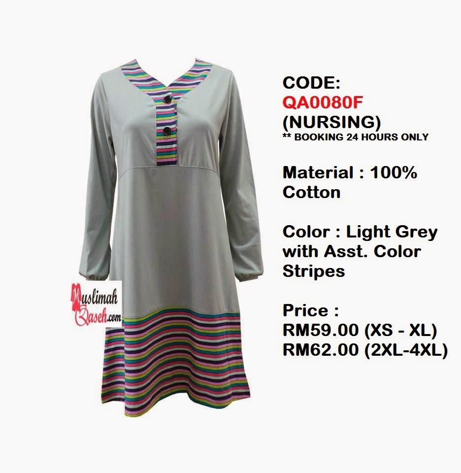 T-Shirt-Muslimah-Qaseh-QA0080F