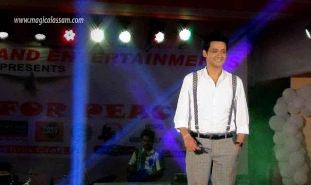 kapil bora-actor-music-for-peace-guwahati