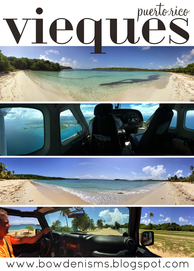 Bowdenisms guide to Vieques, Puerto Rico