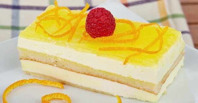 Resep cake lemon cream Gateu