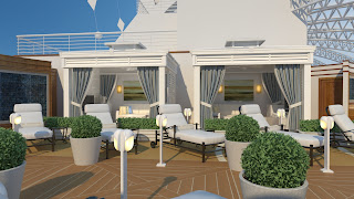 Princess Cruises' Sanctuary On-board the Royal Princess