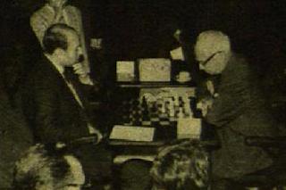 Partida de ajedrez Romero Ríos vs. Pomar en 1962