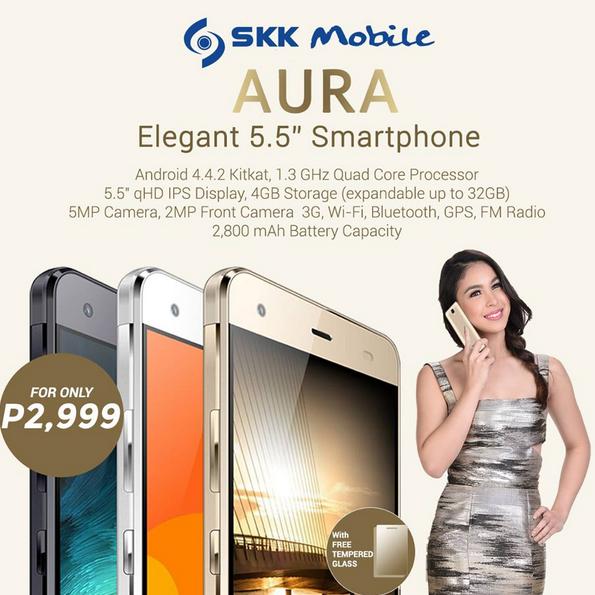 Best Smartphones Under 3K, SKK Aura