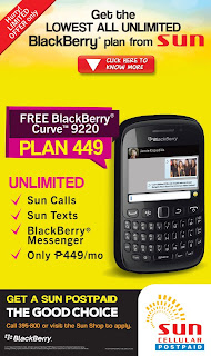Blackberry Curve 9220 Sun Plan 499