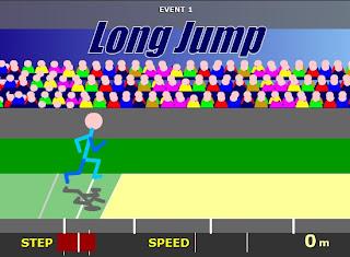 stickman olympics - long jump