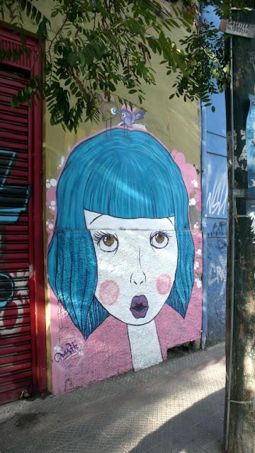 street art by naska in santiago de chile barrio bellavista arte callejero