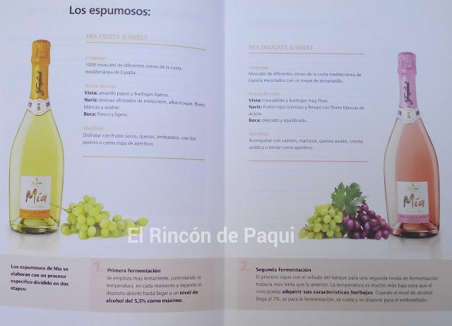 Imagen que describe los vinos