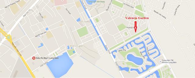vị trí chung cư valencia
