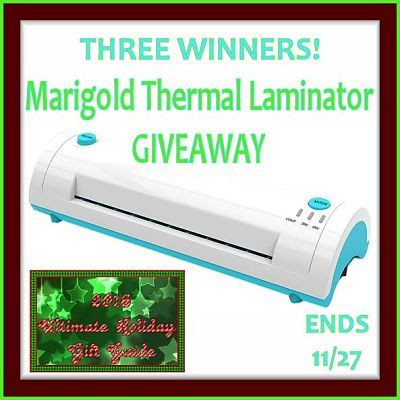 Laminator Giveaway #GiftGuide