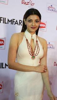 kajal aggarwal new photos at 62nd filmfare awards
