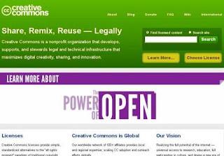 creative common homepage