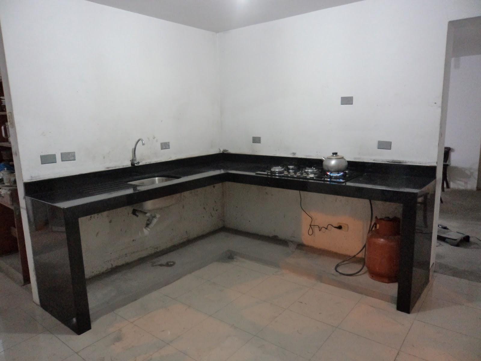 Oniria obra en proceso nueva cocina for Diseno de cocina lavadero