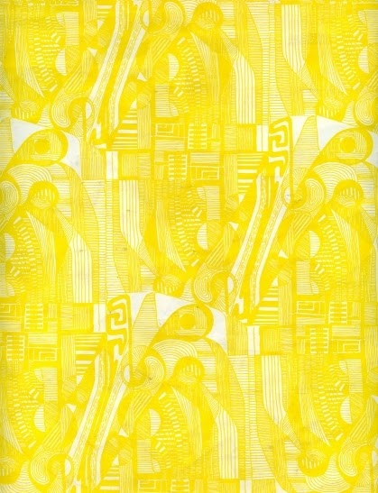 scribble babble weekly inspiration the yellow wallpaper