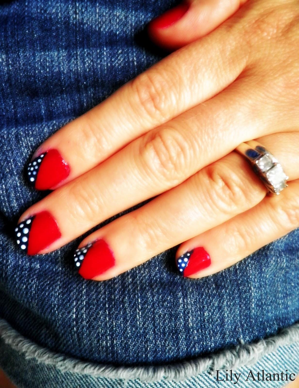 Lily Atlantic Diy Patriotic Nails