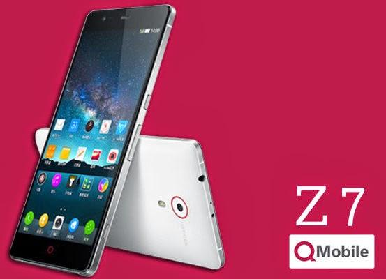 Qmobile Noir Z7 Slimmest Smartphone