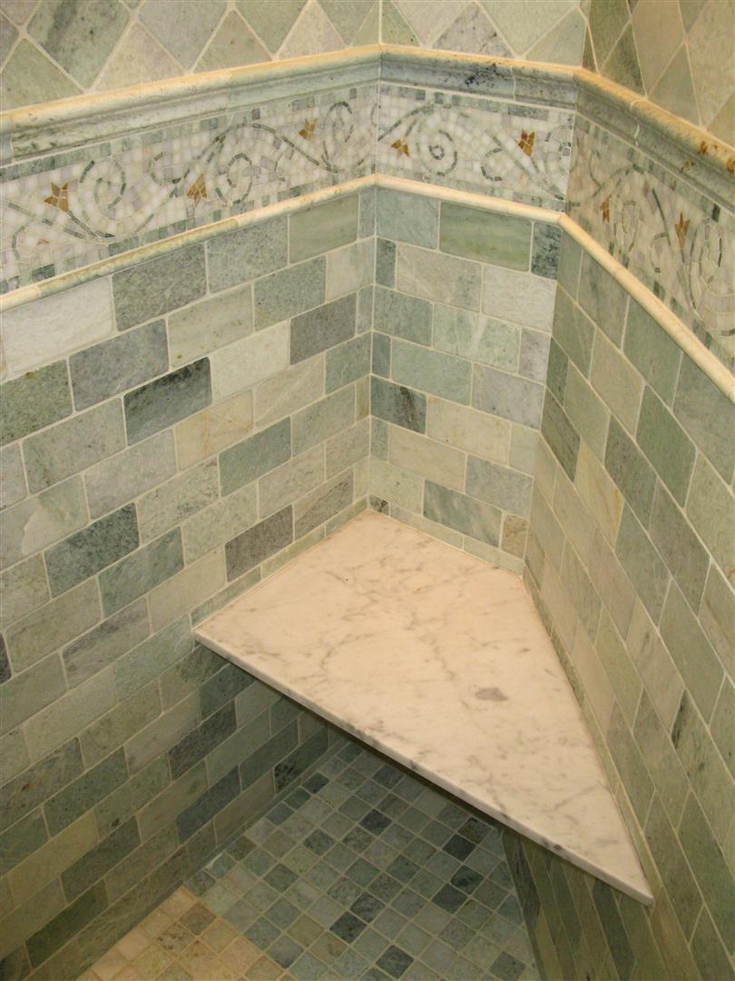 Stone floor tile patterns