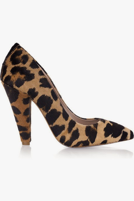 Mulberry animal-print calf hair pumps