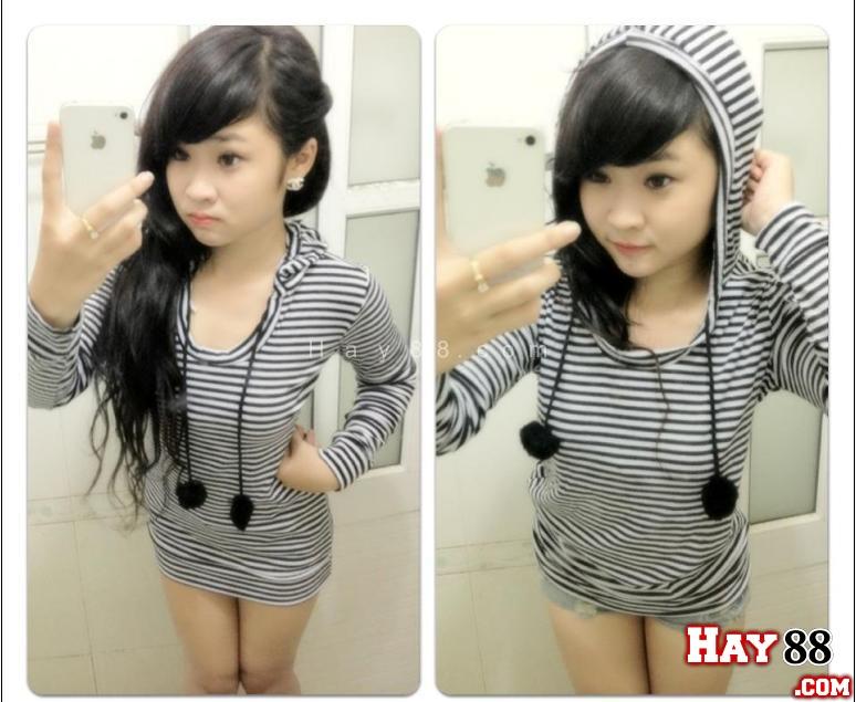 """Girl xinh show HAY88com 28 GF New pic gái xinh Việt Nam """"tự"""