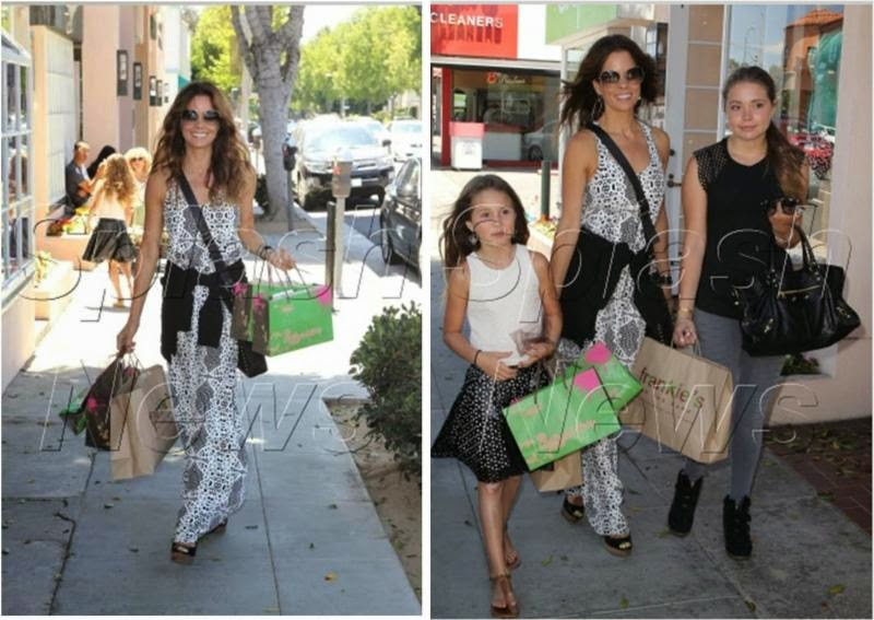 Brooke Burke-Charvet Shopping