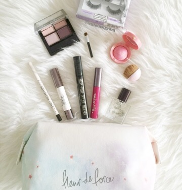 Fleur De Force makeup bag