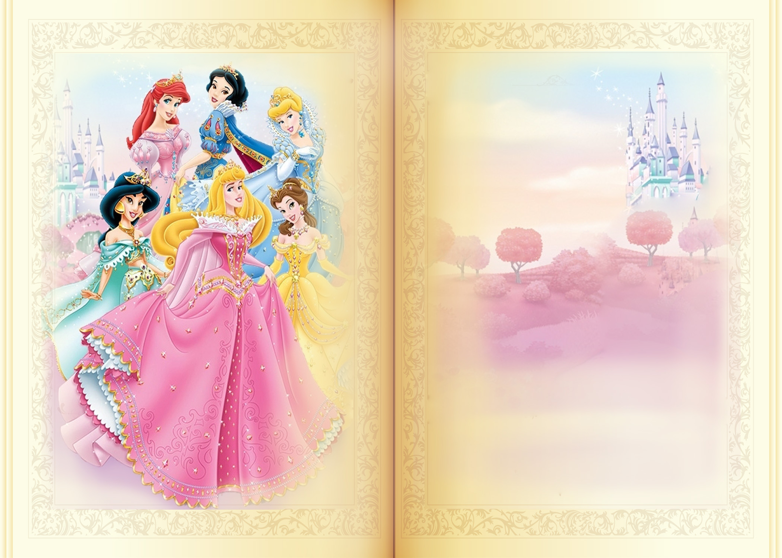 free princess birthday invite