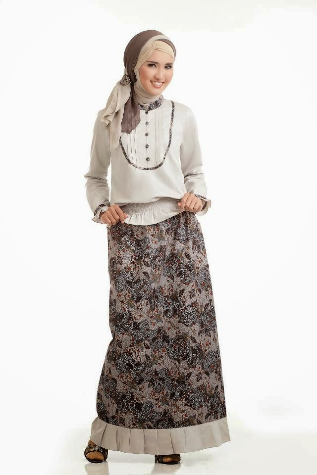 Gamis Batik Trend Busana Masa Kini Model Baju Terbaru