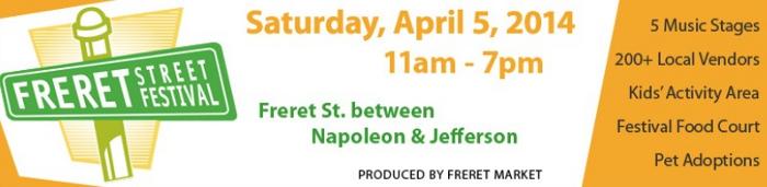 Freret Street Festival 4/5/2014