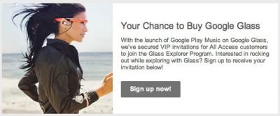 Google Kirim Undangan untuk Akses Play Music di Google Glass