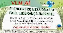 SEMIPA KIDS - 2º Encontro Missionário Para Liderança Infantil.