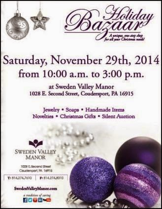 11-29 Holiday Bazaar At Sweden Valley Manor