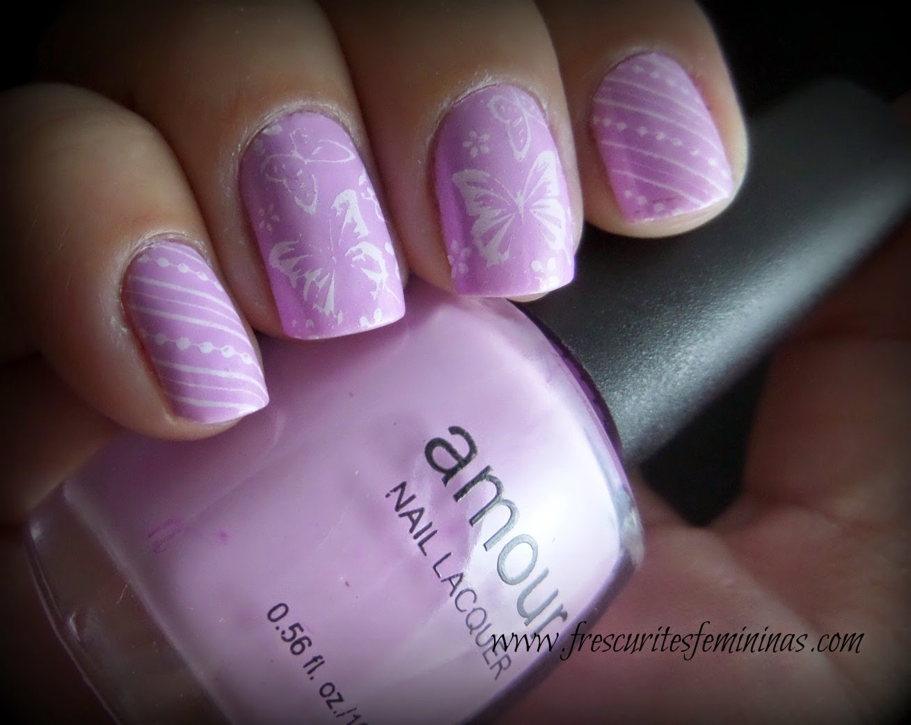 Amour, grandpappy pimpin', frescurites femininas, blog, nails, Atlanta