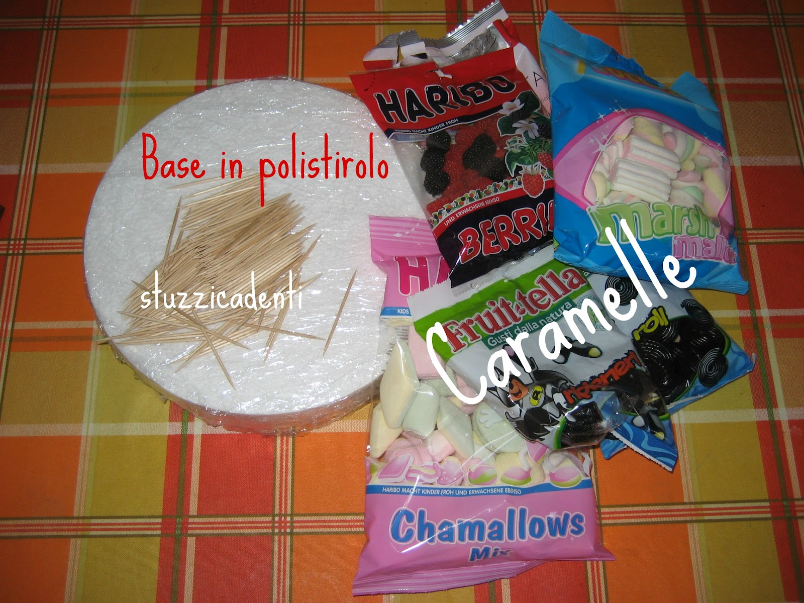 Popolare Pasticciando in cucina: Torta di Caramelle AC37