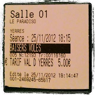 Baisers Volés Truffaut